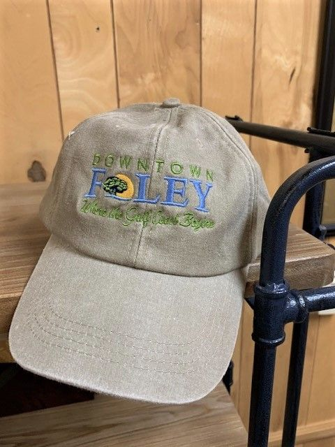 Downtown Foley Cotton Six Panel Embroidered Cap  Image