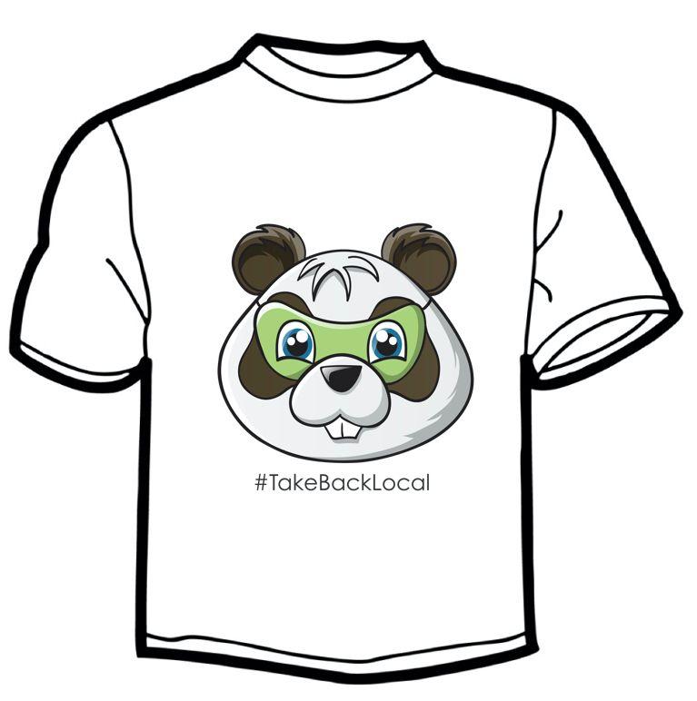 Buzz Closeup T-Shirt - #TakeBackLocal Image
