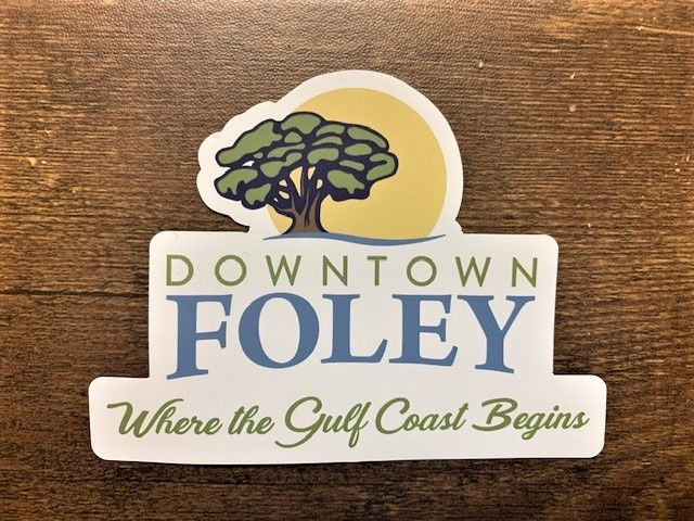 """4"""" X 3""""  Downtown Foley Magnets  Image"""
