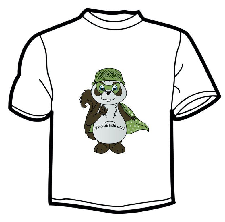 Buzz T-Shirt - #TakeBackLocal Image