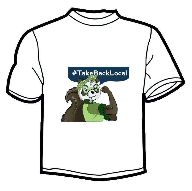 Beatrice T-Shirt - #TakeBackLocal Image