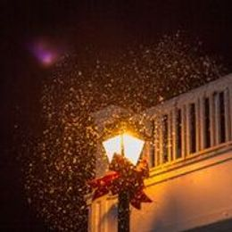 SNOW on Historic Sutter Street!