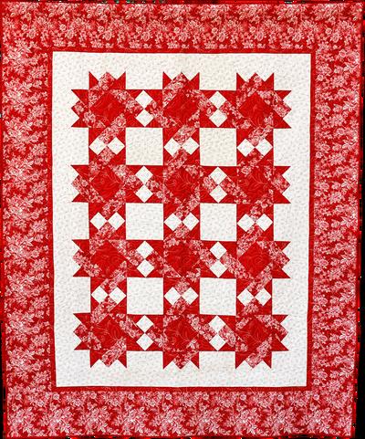 Red and White Delite