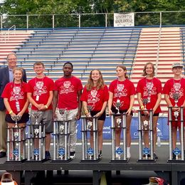 Aidyn Driggers 2nd Place All-American Soap Box Derby Rally Super Stock Champion pictured second from right.
