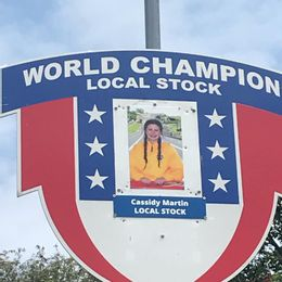 The pictures are changed every year at The All-American Soap Box Derby in Akron Ohio. Our very own Cassidy Martin is pictured winning the 2019 World Champion Local Stock Division.