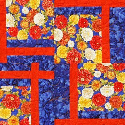 Piece of a quilt