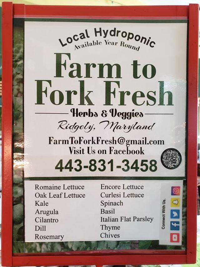 Farm to Fork Fresh