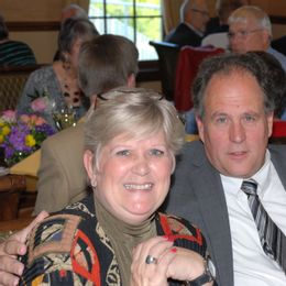 couple enjoys community events with the exchange club