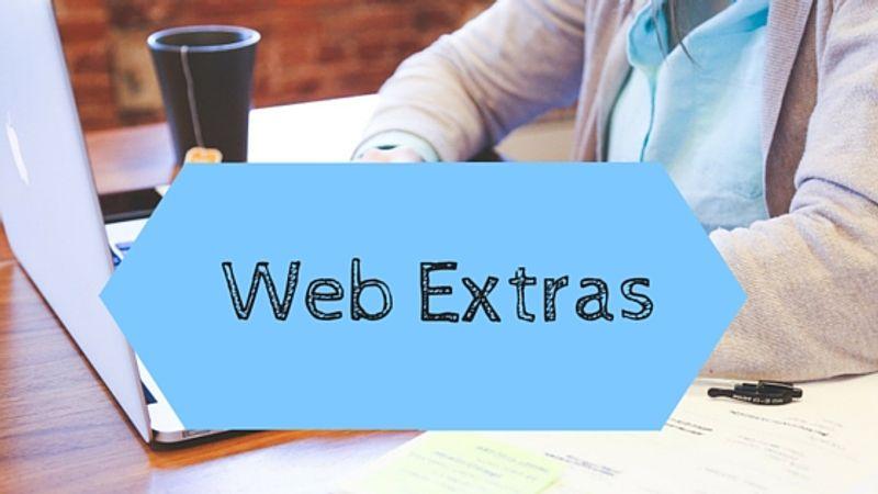 web extras